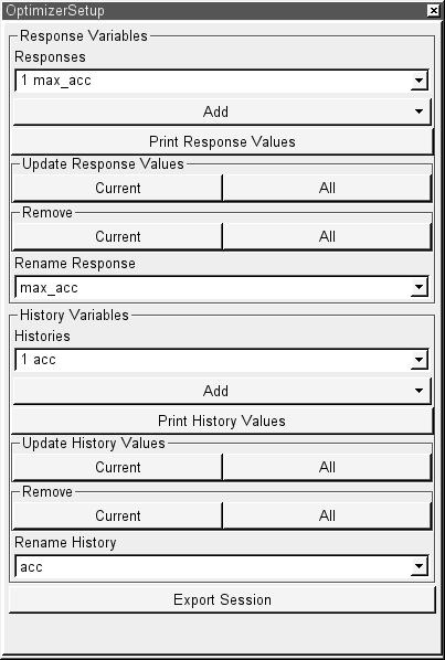 meta optimizer setup